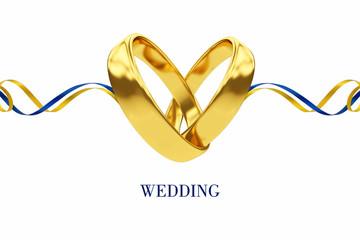 Стилизованный фон. Свадьба
