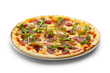 Duck Meat Pizza