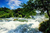 Fototapety Waterfalls Krka
