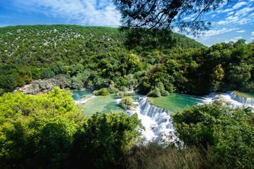 Waterfalls Krka