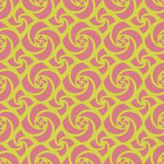 Yellow Colors pinwheel Pattern. Korean traditional Pattern Desig