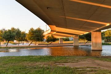 Viaduto no Parque da Cidade