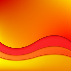 Abstract modern background with a colorful waves