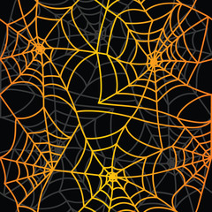 spider's net pattern black