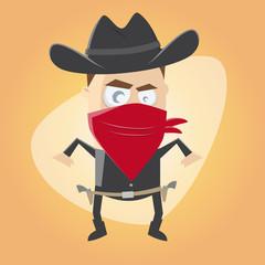 cowboy bandit western lustig