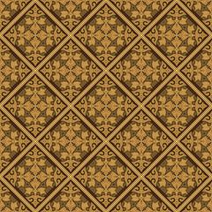 Beige Colors Asian Damask Pattern. Korean traditional Pattern De
