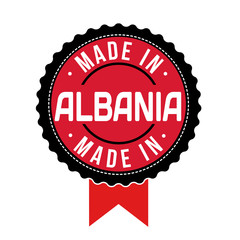 Made in Albania, product label