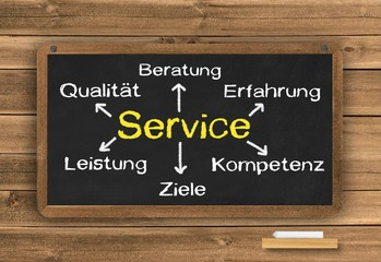 Service bedeutet...