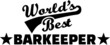 World's Best Barkeeper Bartender Barman