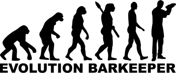 Bartender Barman Barkeeper Evolution