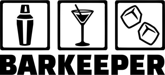 Bartender Barman Barkeeper Tripple