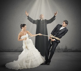 Trapped by marriage