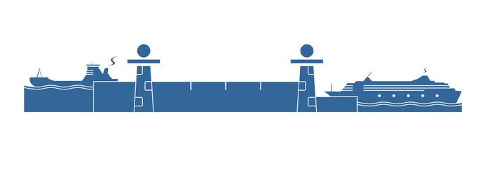 Water lock system