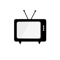 tv vector isolated