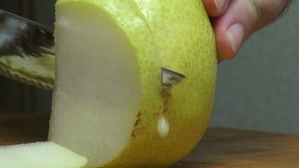 Pears, Fresh Fruits, Foods, Vegetarian