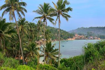 View of Unawatuna, Sri Lanka