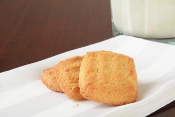Bite sized coconut cookies