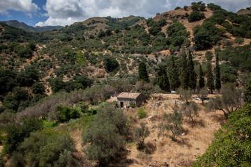 Paesaggio montano della Sicilia