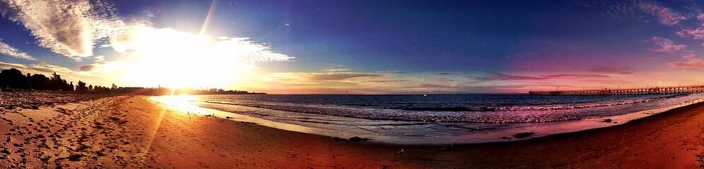 Magic sunset in santa barbara!!