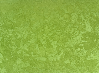 plaster  green color