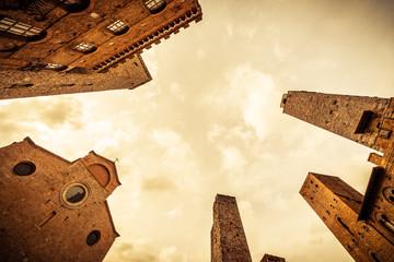 Borgo medioevale di San Gimignano - Toscana