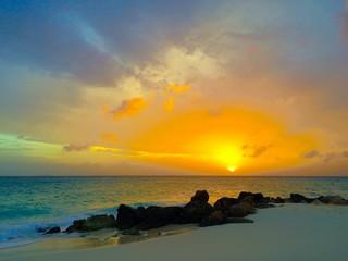 tramonto ad aruba