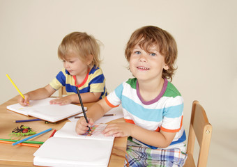 Kids Children Drawing Art