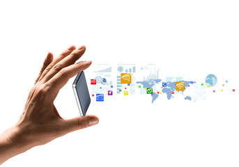 Presentation of gadget