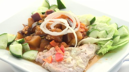 Low Calorie Chicken Plate,Dish or Recipe