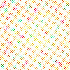 colorful halftone pattern