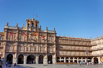 Ayuntamiento de Salamanca. Plaza Mayor.