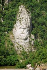 Rock Sculpture Of Decebalus, Romania