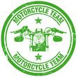 Zdjęcia na płótnie, fototapety, obrazy : motorcycle team stamp