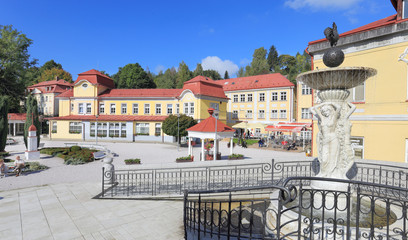 Spa Libverda in north Bohemia, Czech Republic