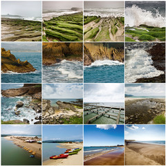 collection of seascape
