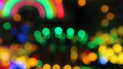 Bunte Lichteffekte, Bokeh