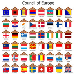 Council of Europe, Countries of Europe