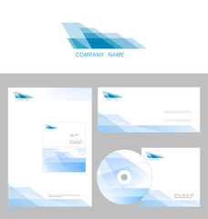 Design of corporate identity templates