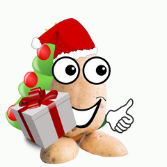 little potato man santa claus
