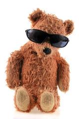 L'ourson aux lunettes de soleil