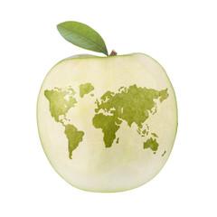 Apfel Welt