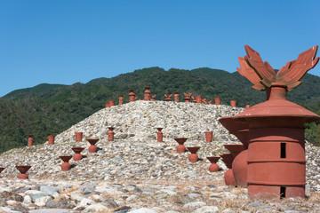 柳井茶臼山古墳と埴輪
