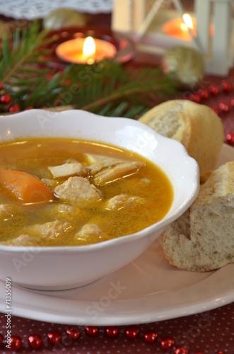Fish soup - 71355089