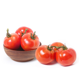 Tomato vegetable isolated