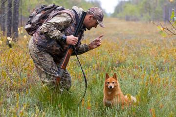 conversation between hunter and dog