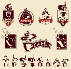 Hot Beverages Labels