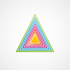 picto triangle