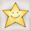 Lächelnder Stern