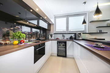Luxurious new kitchen