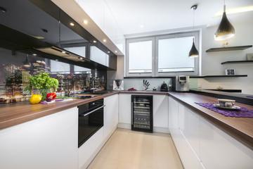 Luxurious new kitchen